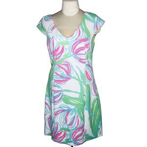 Lilly Pulitzer Ring The Bellboy Desiree Dress XL